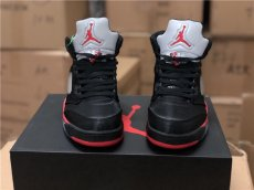 AJ5, satin black and red, company level