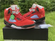 Trophy Room x Air Jordan 5 bull red, corporate grade