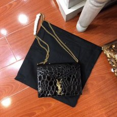 Yves saint Laurent  New moire, CASSANDRA Taiwan bronze hardware, super special Y clip lock