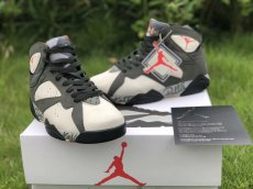 Patta x Air Jordan 7 original class, high quality basketball shoes