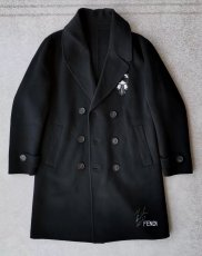 Fendi Elegant cashmere coat for men,90%  wool  10% cashmere