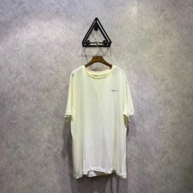 OFF OW19SS oil painting series short sleeves, OS version