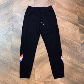 Moncler  New 19ss elasticated trousers with side zipper for men