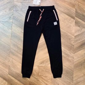 Moncler  19ss men's plain, simple elastic-waist sweatpants