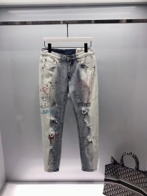 Versace's latest spring/summer 2019 jeans
