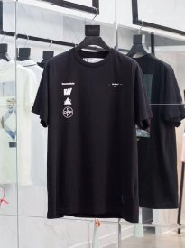 OFF OW19 autumn/winter, printed T-shirt with short sleeves