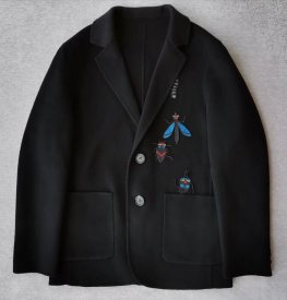 Fendi New Double-faced cashmere coat,import  10% pashm 90% LaLambswool