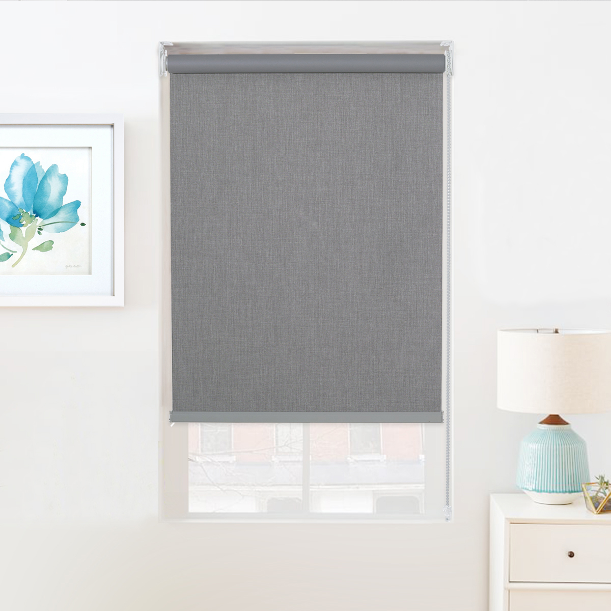 Blackout Roller Shade,UV Protection, Thermal Insulated