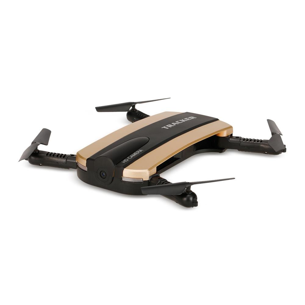 JIN XING DA JXD 523 Tracker RC Drone With HD Camera Pocket Quadcopter FPV Wifi Mini Dron VS JJRC H37 Xs809w Foldable Dron