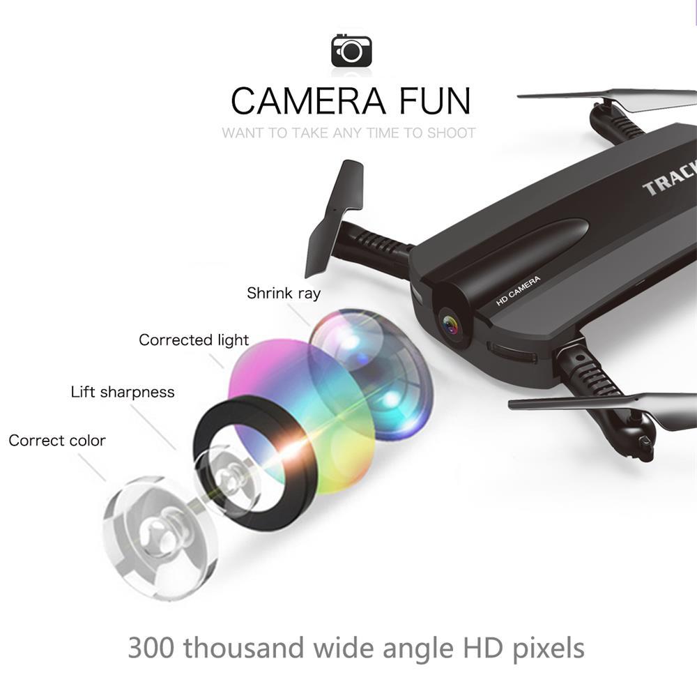 JIN XING DA JXD 523 Tracker RC Drone With HD Camera Pocket Quadcopter FPV Wifi Mini Dron VS JJRC H37 Xs809w Foldable Dron Item NO: 32825014045