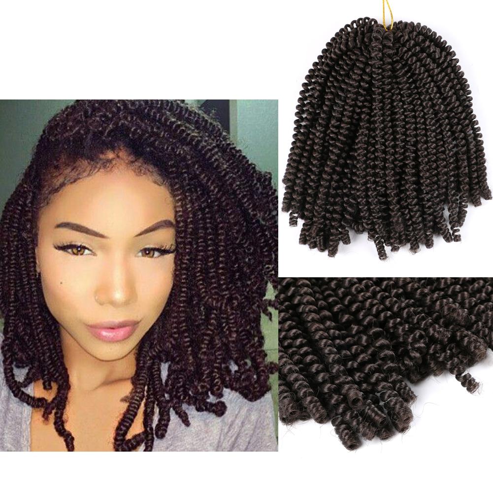 US$ 7 99 - DAIRESS 8Inches Spring Twist Crochet Hair