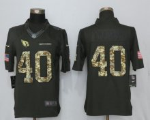New Nike Arizona Cardinals 40 Tillman Anthracite Salute To Service Limited Jersey