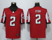 New Nike Atlanta Falcons 2 Ryan Red Limited Jersey