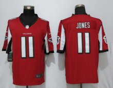 New Nike Atlanta Falcons 11 Jones Red Limited Jersey