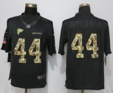 New Nike Atlanta Falcons 44 Beasley jr Anthracite Salute To Service Limited Jersey