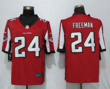 New Nike Atlanta Falcons 24 Freeman Red Limited Jersey