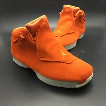 "Air Jordan 18 ""Orange Suede""AA2494-801"