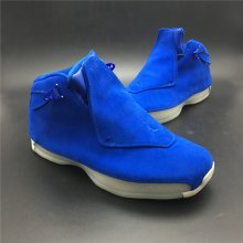 "Air Jordan 18 ""Blue Suede"" AA2494-401"