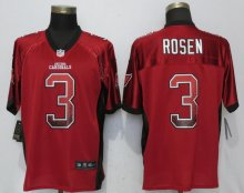 NEW Nike Arizona Cardinals 3 Rosen Drift Fashion Red Elite Jerseys