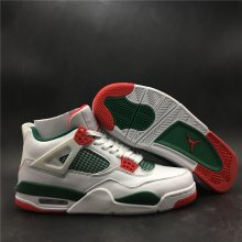 Air Jordan4 White and Green