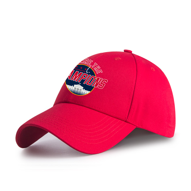 52324540514  WE ARE THE CHAMPION  Washington Capitals Hats Red EHW02