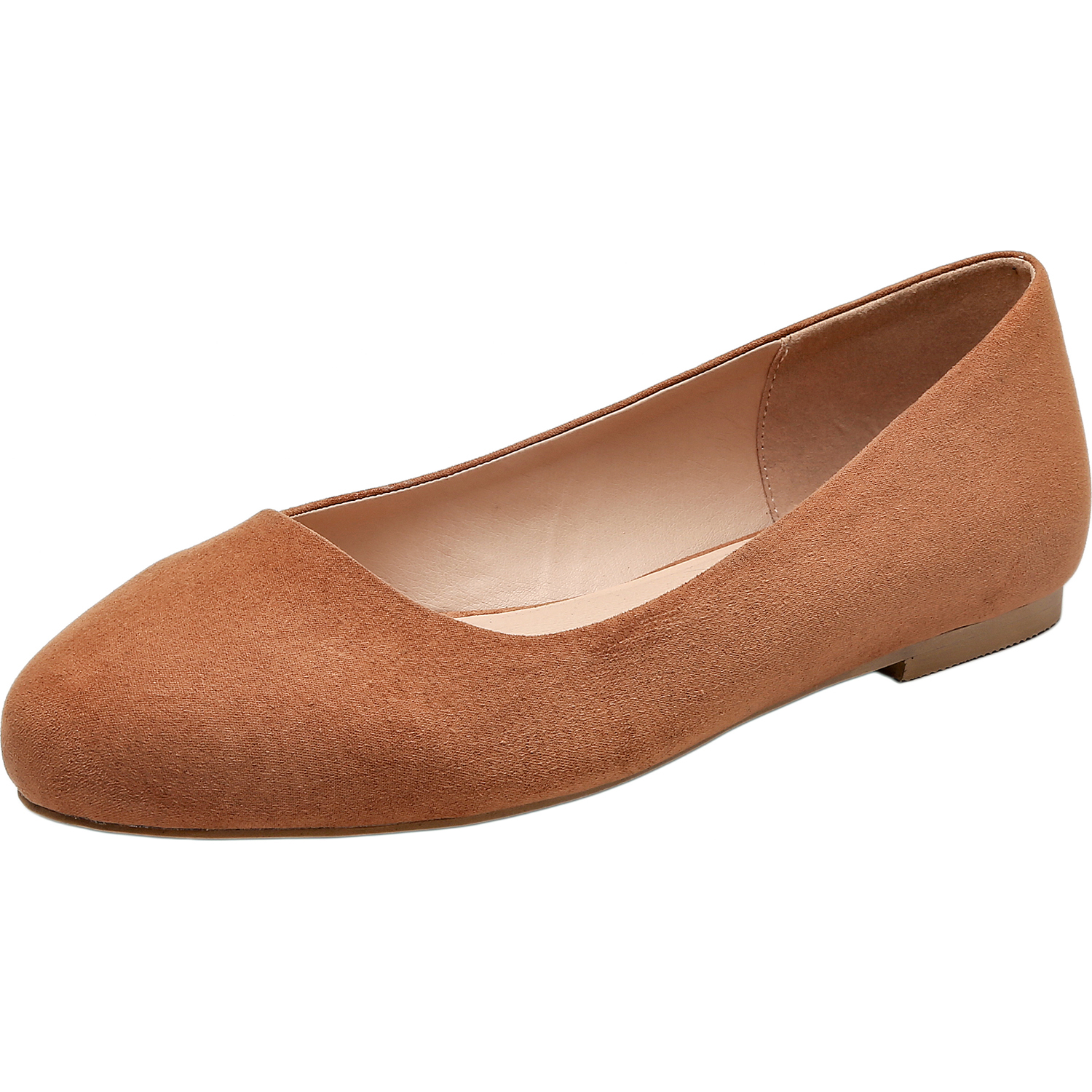 0df2e99dca1a US$ 29.99 - Aukusor Women's Wide Width Flat Shoes - Comfortable Classic  Pointy Toe Slip On Ballet Flat - www.luoika-us.com