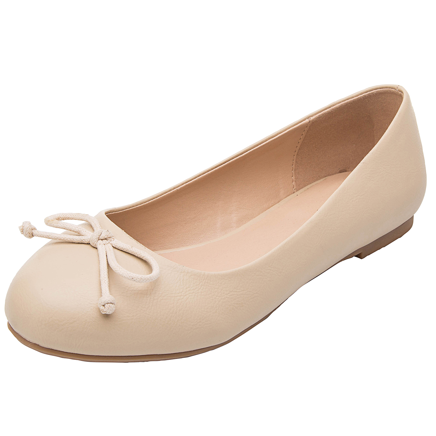 aba618e47f86 US$ 29.99 - Luoika Women's Wide Width Flat Shoes - Comfortable Slip On  Round Toe Ballet Flats - www.luoika-us.com