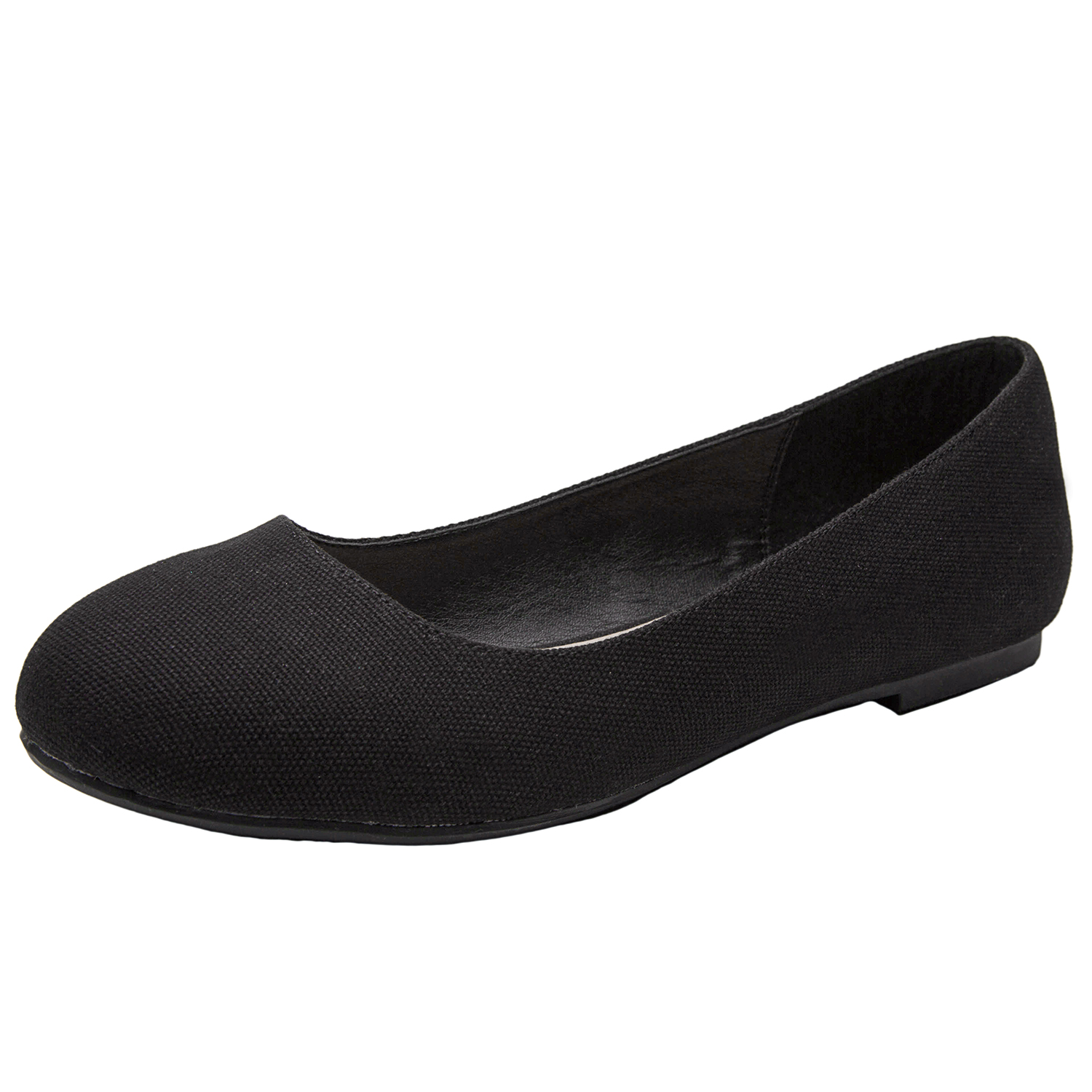 a81558bc94302 US$ 29.99 - Luoika Women's Wide Width Flat Shoes - Comfortable Slip On  Round Toe Ballet Flats - www.luoika-us.com