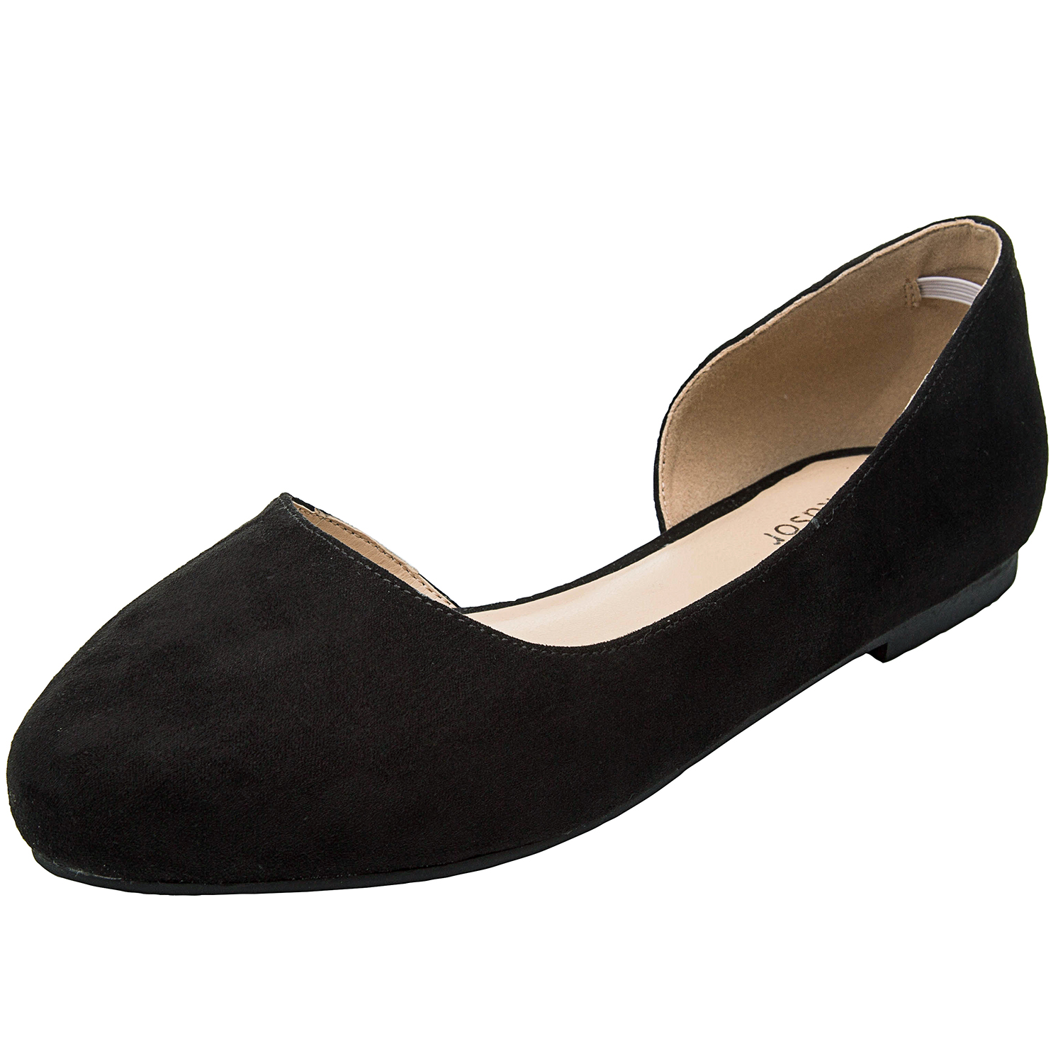 798305cc5d US  29.99 - Aukusor Women s Wide Width Ballet Flat - Comfortable Sandals  Slip On Pointed Toe Summer Casual Shoes. - www.luoika-us.com