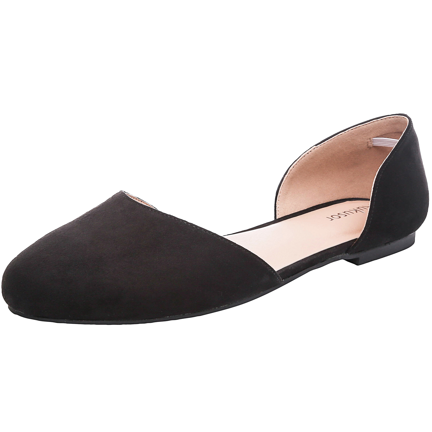 45bfdb91b7afa US  29.99 - Aukusor Women s Wide Width Ballet Flat - Comfortable Sandals  Slip On Closed Toe Casual Summer Shoes. - www.luoika-us.com