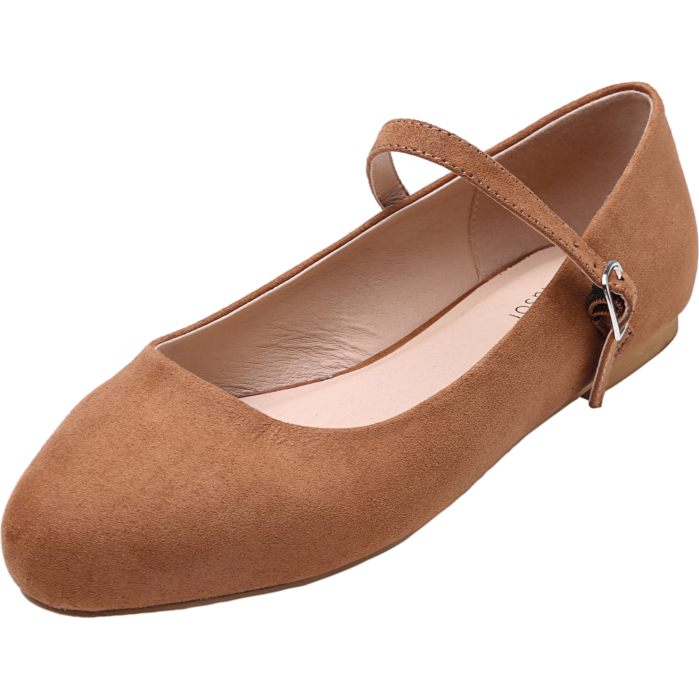 c46849e4ed68 US$ 49.99 - Women's Wide Width Flat Shoes - Comfortable Classic Pointy Toe  Mary Jane Ballet Flat - www.luoika-us.com