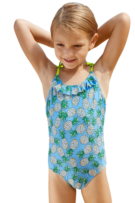 12bbc787 US$ 3.5 - Pineapple Print Little Girls One-piece Swimsuit -  www.jnbwholesale.com