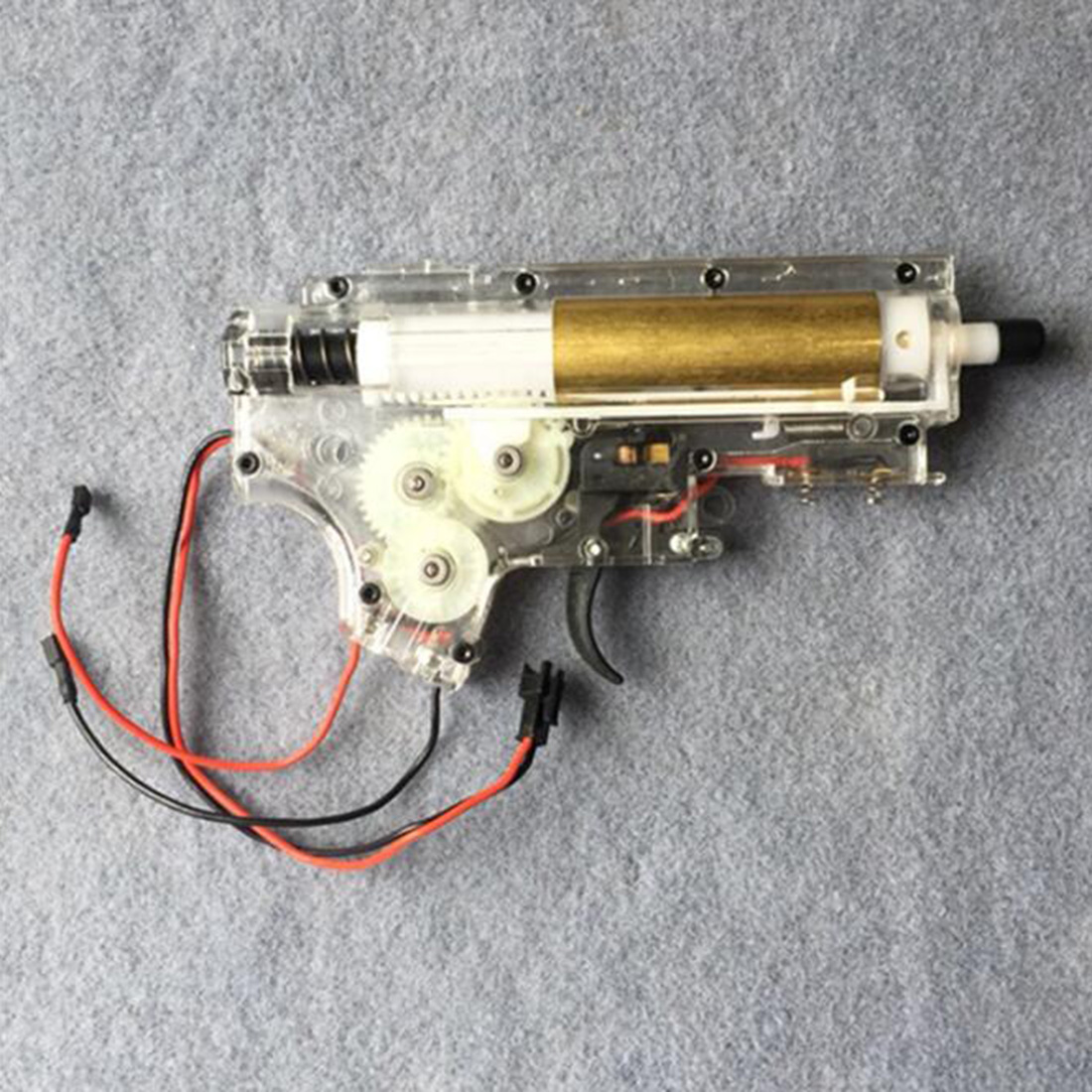 Original PC Gearbox for JM Gen 9 M4A1 Water Gel Beads Blaster - Transparent