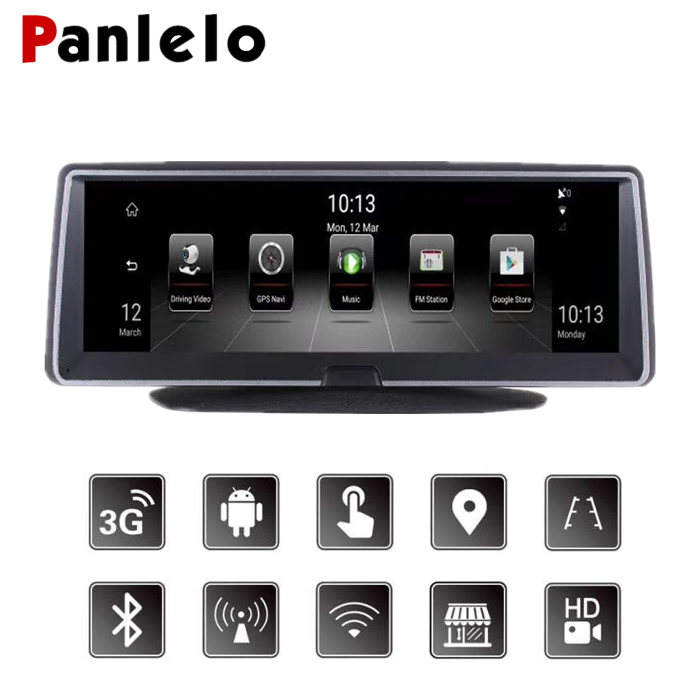 Car Android GPS Navigation 7 84 Auto Dash Camera DVR 3G/4G Network Touch  Screen Bluetooth APP Control Wi-Fi Rear View Camera