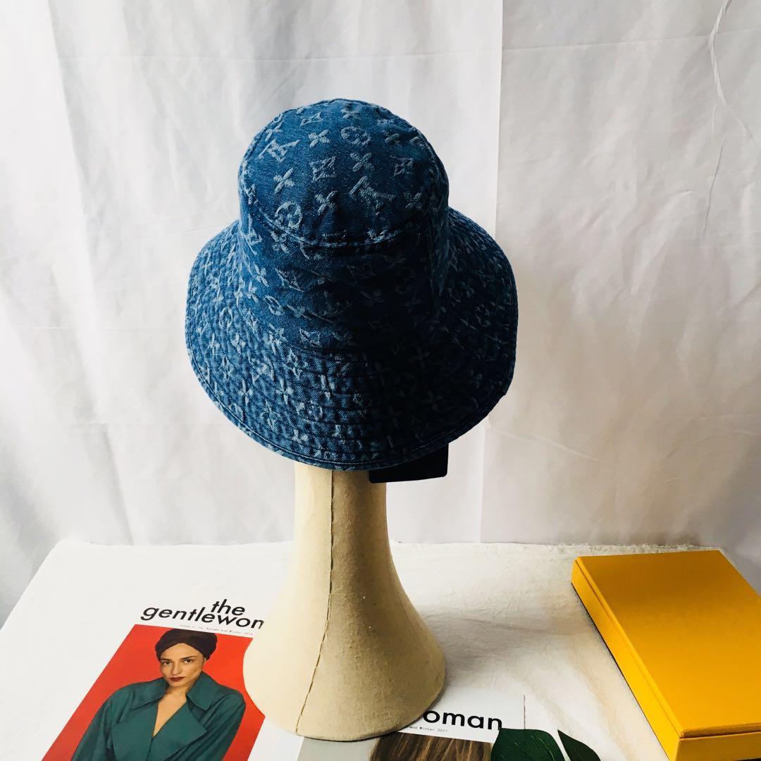 7350a268e Designer Monogram Bucket Hat LU-02