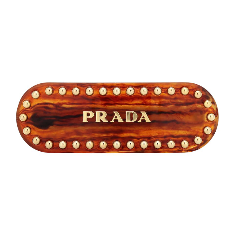 New Prada Embellished Hair Clip CL07