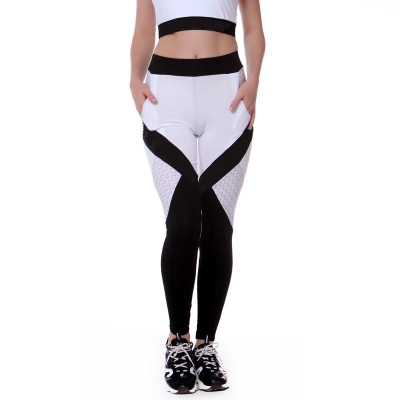 sur des coups de pieds de diversifié dans l'emballage vente en magasin Women Leggings Sport Yoga Leggings Pants Running Trousers Tights Gym  Training gym Legging Sport Femme Fitness