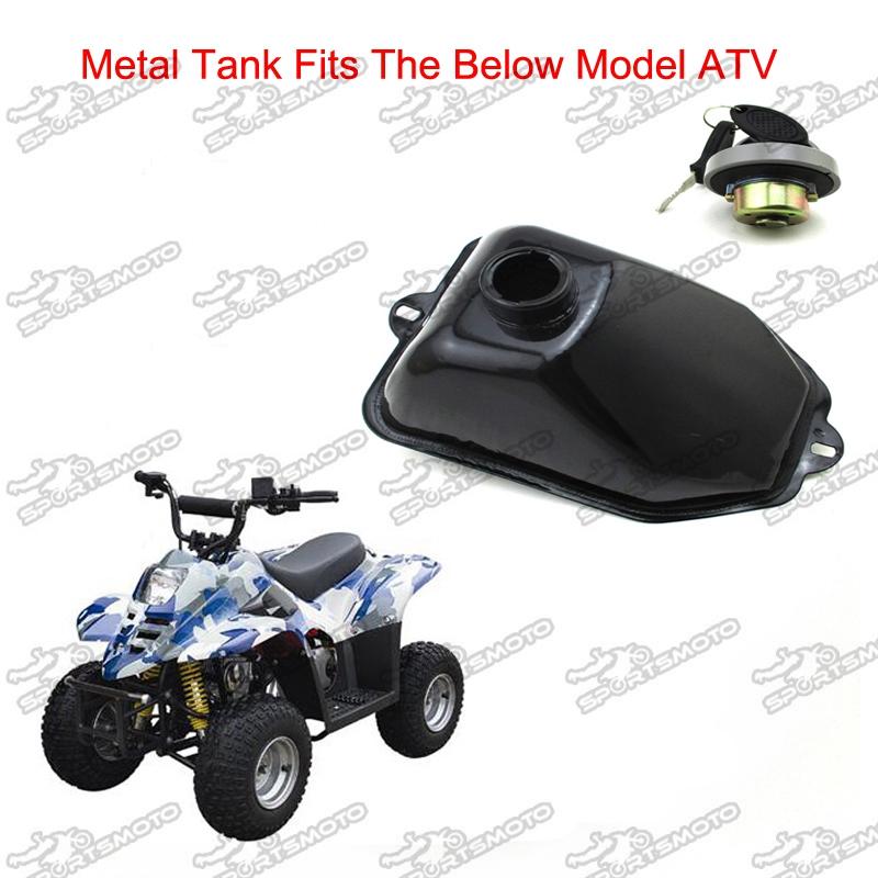 Almencla Motorcycles Fuel Tank Gas Cap Cover For 50-125cc ATV Quads Bike