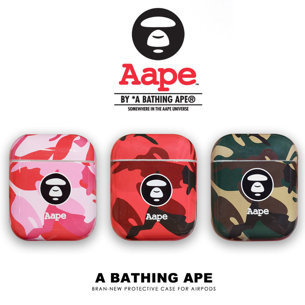 huge selection of 14a6d 12384 Aape Apple Airpods Case Cool Camouflage