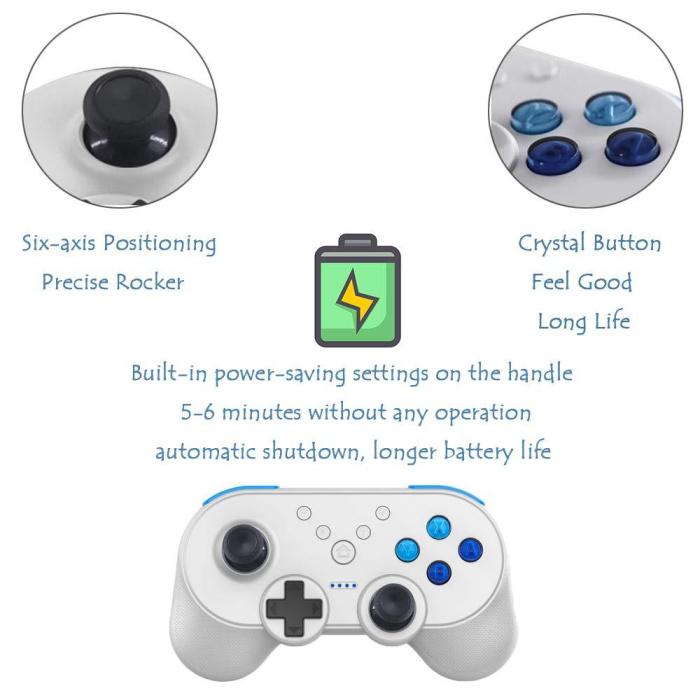 Nintendo Switch NS wireless bluetooth controller Mini Pro controller  gamepad joystick