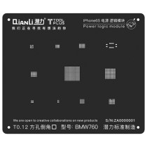 QianLi ToolPlus  For iPhone 6S/6SP  Black Stencil Power Logic Module