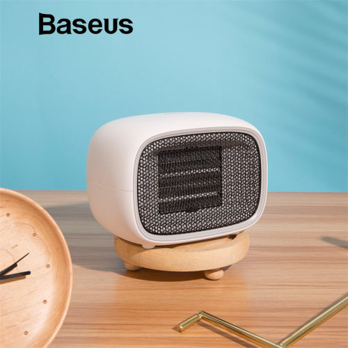 Baseus Mini Fan Portable Electric Air Heater Warm Fan Blower Mini Handy Heater Desktop Radiator Warmer for Home Office Household