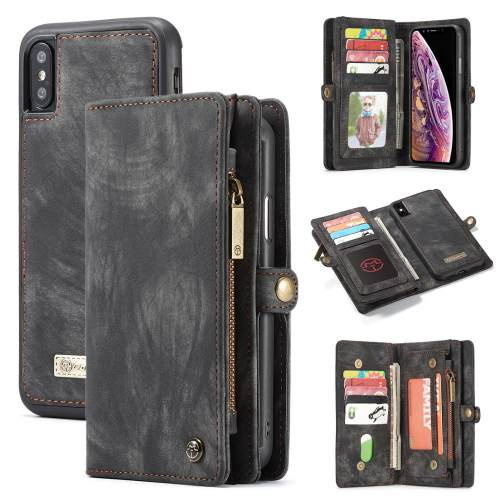 Card Flip Phone Wallet Coque For iPhone X XR XS Max 8 7 6 6s Plus Case Luxury Leather Magnet TPU Back Cover For iPhone 7 8 Funda