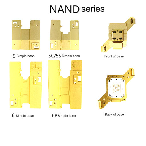 Simple HDD Test Fixture For iPhone 5/5S/6/6S/7/8/8P Motherboard Hard Disk NAND/PCIE/NVME Test Fixture Nand Flash Tester