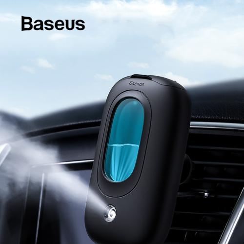 Baseus Car Air Humidifier Aroma Diffuser with Magnetic Car Air Vent Mount Aromatherapy Essential Oil Diffuser Mini Air Purifier