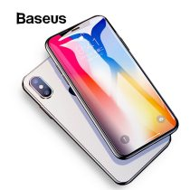 Baseus 0.2mm Protective Glass For iPhone Xs Xs Max XR 2018 Screen Protector Thin Full Coverage Tempered Glass Film For iPhone Xs