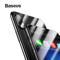 Baseus Front Glass + Back Tempered Glass For iPhone Xs Xs Max XR 2018 Protective Glass Screen Protector For iPhone Xs Xs Max