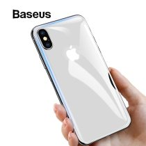 Baseus For iPhone Xs Max Glass Ultra Thin Back Glass Film For iPhone Xs Max Xs XR 2018 Protective Glass Tempered Scratch Proof