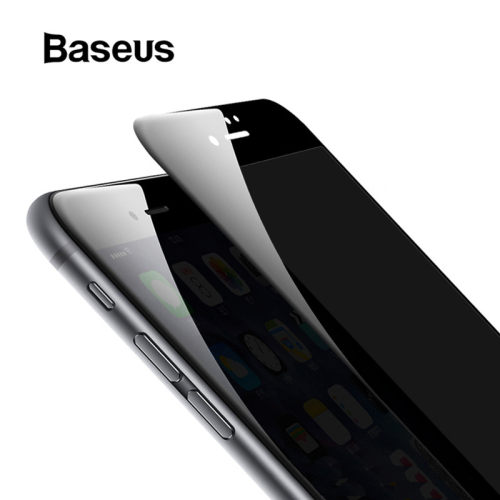 Baseus 3D Screen Protector For iPhone 7 7 Plus Anti Spy Privacy Protective Glass For iPhone 8 8 Plus Tempered Glass Filme