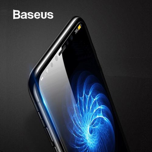 Baseus Ultra Thin Screen Protector For iPhone X 10 Glass Tempered Transparent Scratch Proof Protective Glass For iPhone X